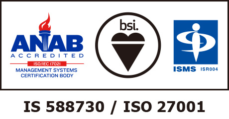 ISO/IEC27001認証マーク