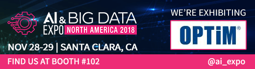 AI & BIG DATA EXPO NORTH AMERICA 2018に出展します